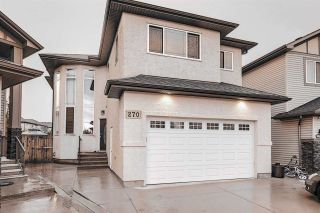 Photo 1: 270 ALBANY Drive in Edmonton: Zone 27 House for sale : MLS®# E4232047