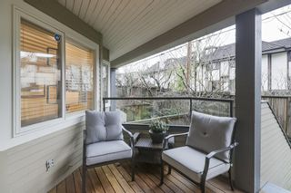 """Photo 10: 2411 W 1ST Avenue in Vancouver: Kitsilano Townhouse for sale in """"BAYSIDE MANOR"""" (Vancouver West)  : MLS®# R2408792"""