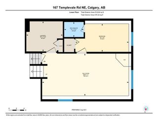 Photo 35: 167 Templevale Road NE in Calgary: Temple Semi Detached for sale : MLS®# A1140728