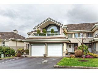 """Photo 1: 147 4001 OLD CLAYBURN Road in Abbotsford: Abbotsford East Townhouse for sale in """"CEDAR SPRINGS"""" : MLS®# R2555932"""