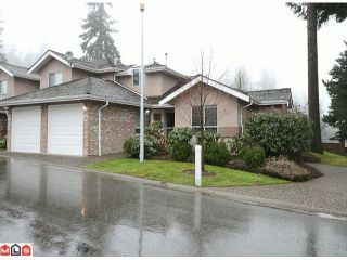 """Photo 1: 108 15550 26TH Avenue in Surrey: King George Corridor Townhouse for sale in """"SUNNYSIDE GATE"""" (South Surrey White Rock)  : MLS®# F1101384"""