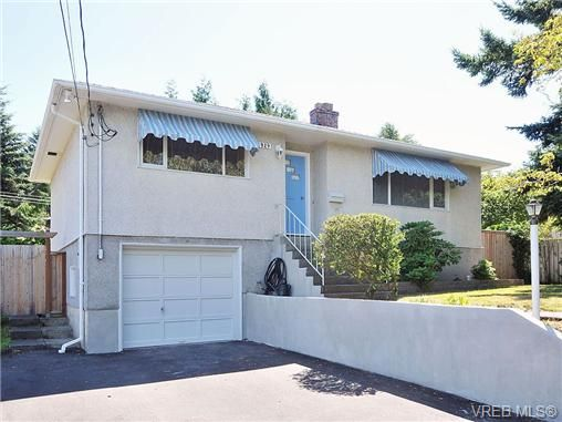 Main Photo: 3929 Braefoot Rd in VICTORIA: SE Cedar Hill House for sale (Saanich East)  : MLS®# 646556