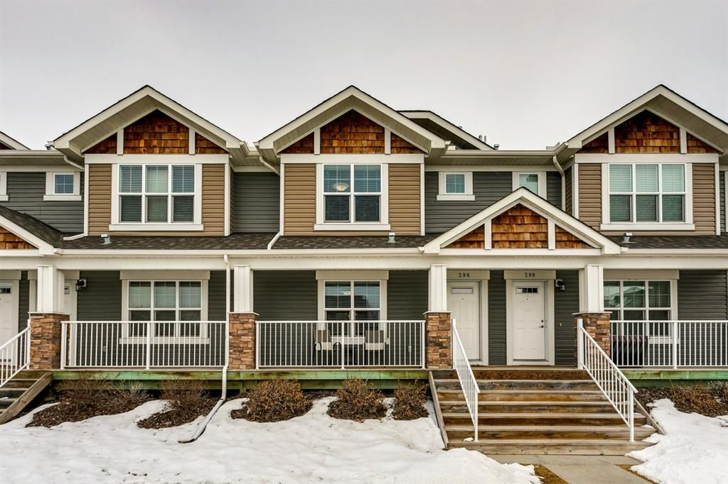 Main Photo: 296 Cranston Road SE in Calgary: Cranston Row/Townhouse for sale : MLS®# A1074027