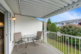 """Photo 33: 166 32691 GARIBALDI Drive in Abbotsford: Abbotsford West Townhouse for sale in """"Carriage Lane"""" : MLS®# R2590175"""