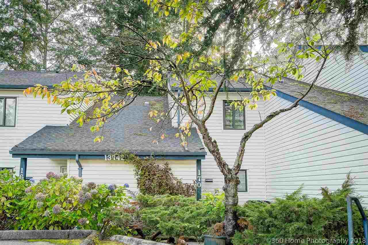 """Main Photo: 170 13742 67 Avenue in Surrey: East Newton Townhouse for sale in """"Hyland Creek"""" : MLS®# R2312673"""