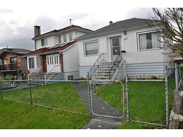 Main Photo: 3510 E 25 Avenue in Vancouver: Renfrew Heights House for sale (Vancouver East)  : MLS®# V1063781