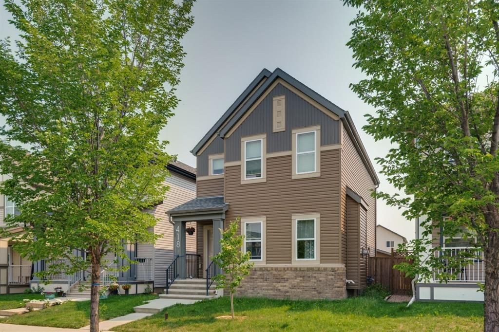 Main Photo: 418 Copperpond Boulevard SE in Calgary: Copperfield Detached for sale : MLS®# A1129824