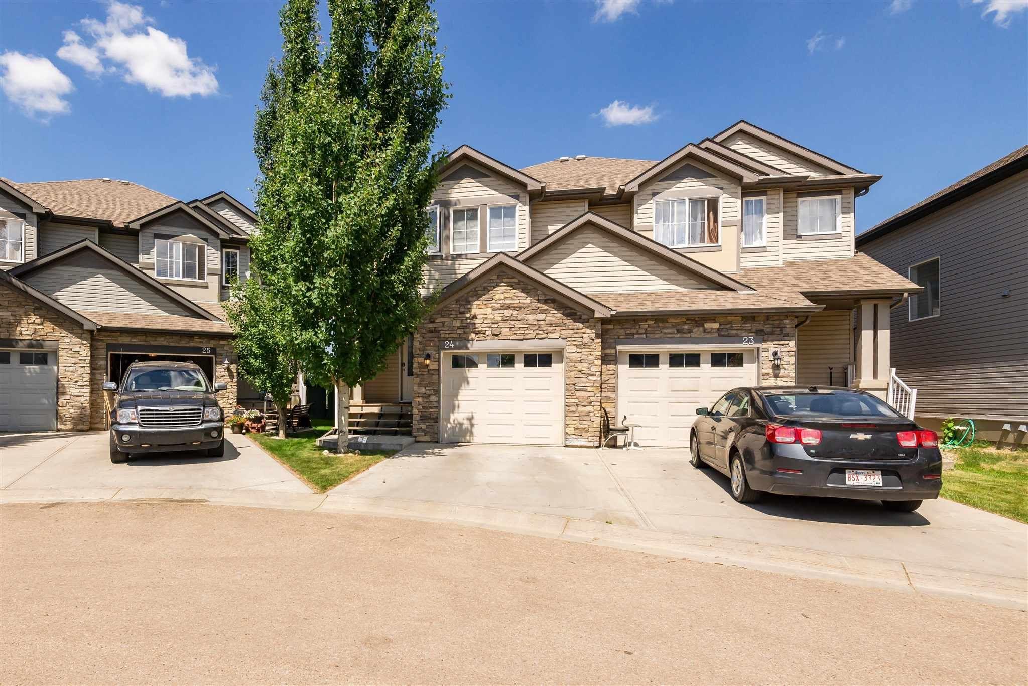 Main Photo: 24 9231 213 Street in Edmonton: Zone 58 House Half Duplex for sale : MLS®# E4251636
