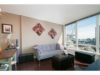 "Photo 1: 1103 928 BEATTY Street in Vancouver: Yaletown Condo for sale in ""The Max 1"" (Vancouver West)  : MLS®# V1115443"