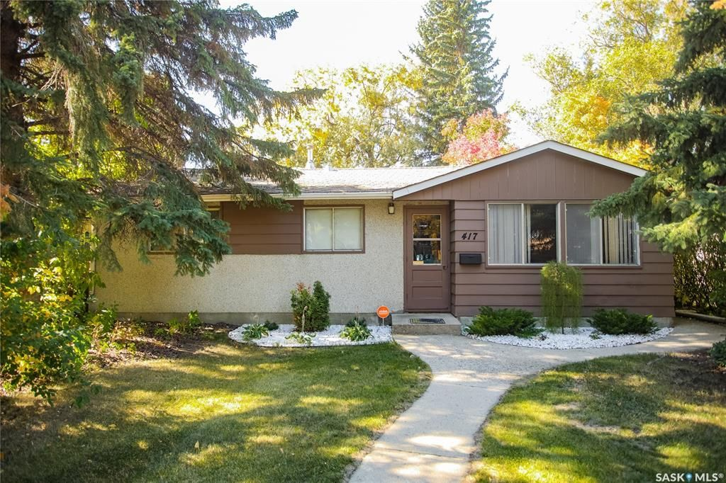 Main Photo: 417 Y Avenue North in Saskatoon: Mount Royal SA Residential for sale : MLS®# SK871435