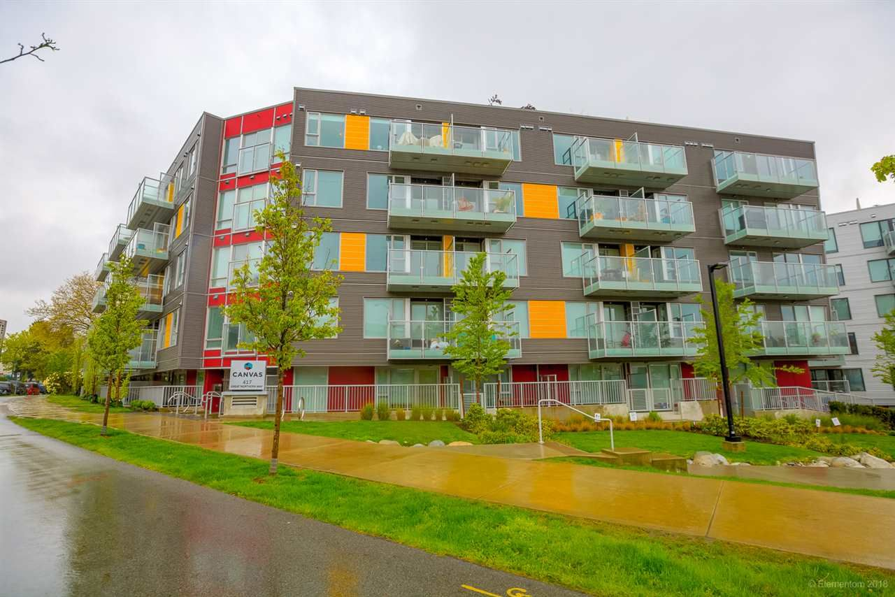 """Main Photo: 110 417 GREAT NORTHERN WAY in Vancouver: Mount Pleasant VE Condo for sale in """"CANVAS"""" (Vancouver East)  : MLS®# R2277364"""