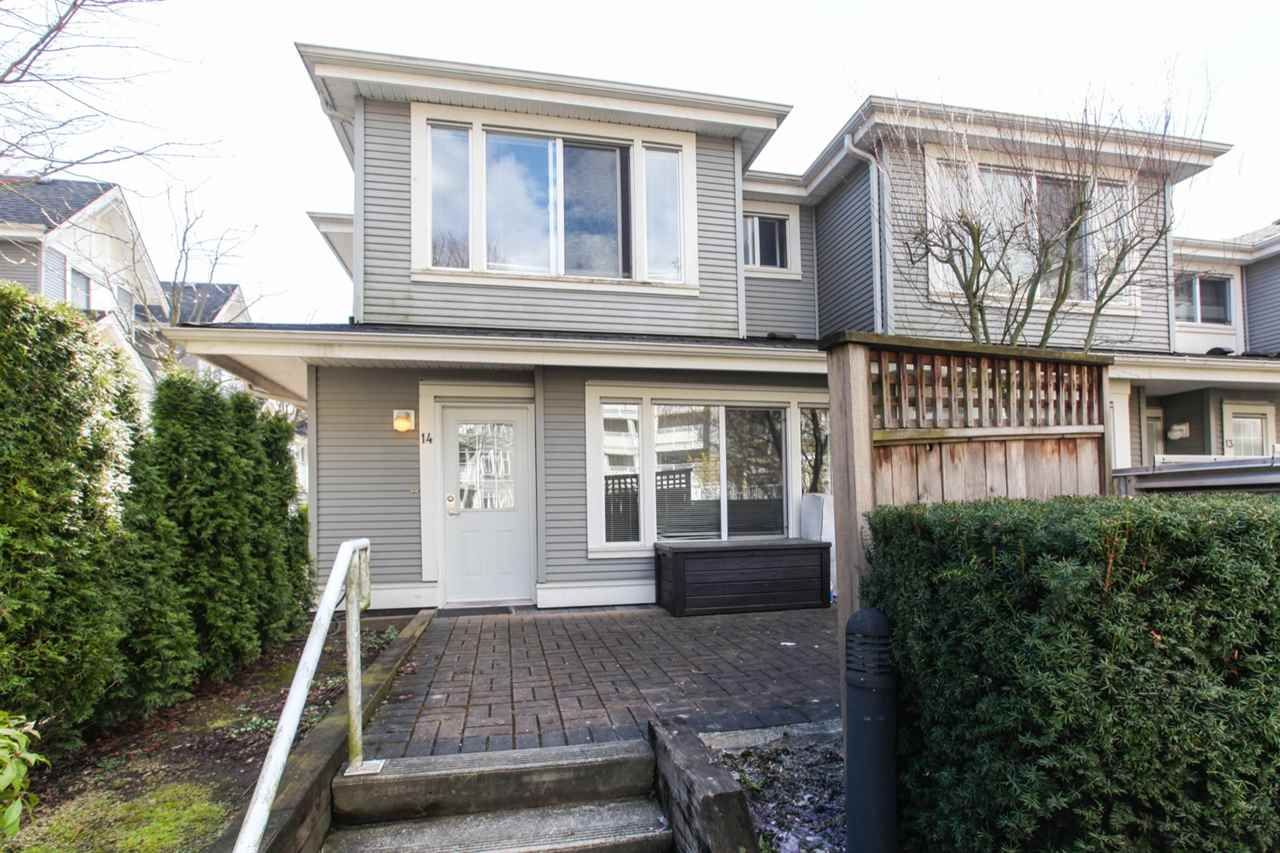 Main Photo: 14 7370 STRIDE AVENUE in : Edmonds BE Townhouse for sale : MLS®# R2395578