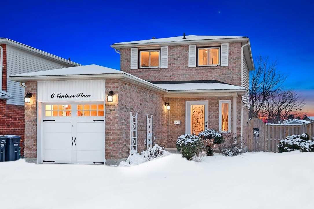 Main Photo: 6 Ventnor Place in Brampton: Heart Lake East House (2-Storey) for sale : MLS®# W5109357