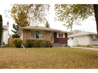 Photo 1: 622 Ian Place in WINNIPEG: North Kildonan Residential for sale (North East Winnipeg)  : MLS®# 1323801