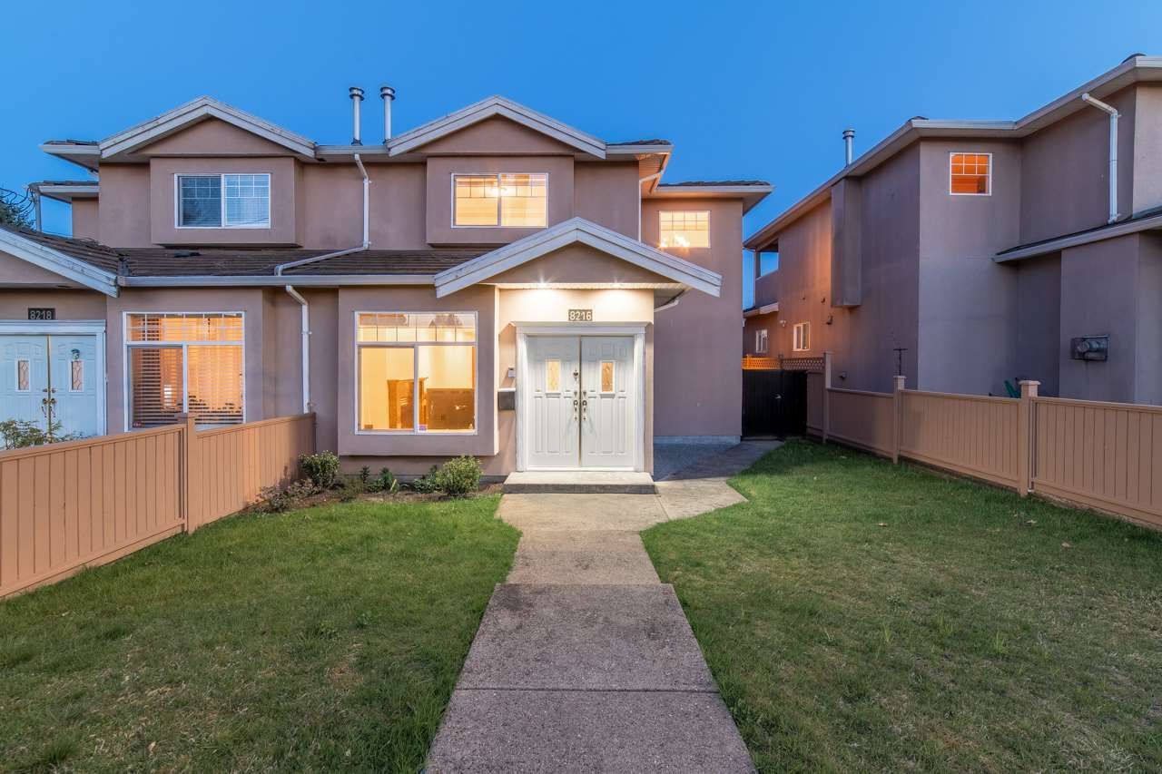 Main Photo: 8216 16TH Avenue in Burnaby: East Burnaby 1/2 Duplex for sale (Burnaby East)  : MLS®# R2608692