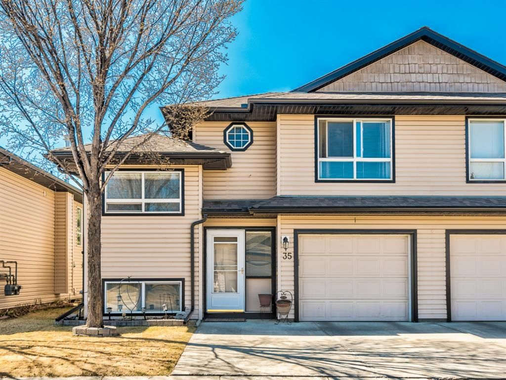 Main Photo: 35 103 Fairways Drive NW: Airdrie Semi Detached for sale : MLS®# A1096640
