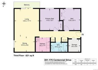 Photo 16: 301 175 Centennial Dr in : CV Courtenay East Condo for sale (Comox Valley)  : MLS®# 885115