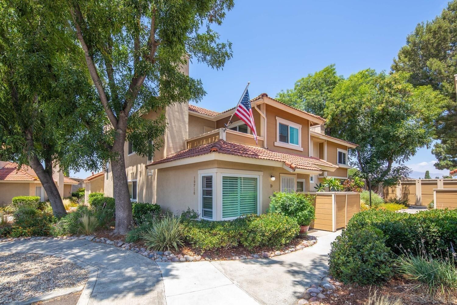 Main Photo: SANTEE Townhouse for sale : 3 bedrooms : 10710 Holly Meadows Dr Unit D