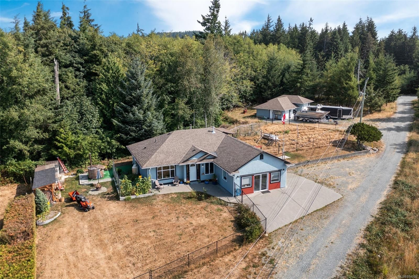 Main Photo: A 8865 Randys Pl in : Sk West Coast Rd House for sale (Sooke)  : MLS®# 884598