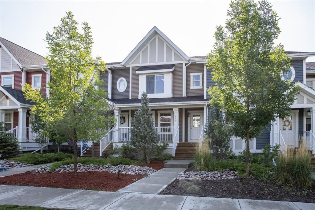 Main Photo: 122 Sunset Road: Cochrane Row/Townhouse for sale : MLS®# A1127717
