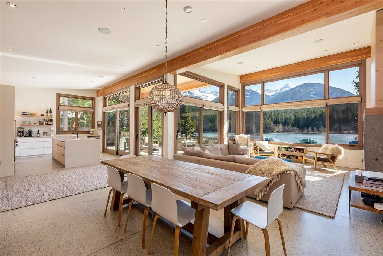 """Main Photo: 9229 LAKESHORE Drive in Whistler: Emerald Estates House for sale in """"WATERFRONT on Green Lake - Emerald Estates"""" : MLS®# R2572982"""