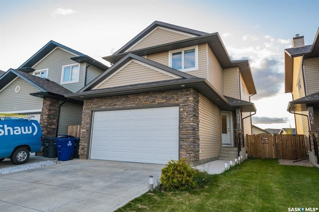 Main Photo: 110 Ashworth Crescent in Saskatoon: Stonebridge Residential for sale : MLS®# SK798771