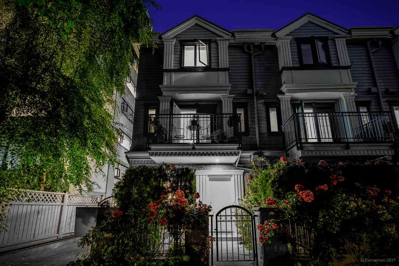 """Main Photo: 3 1135 BARCLAY Street in Vancouver: West End VW Townhouse for sale in """"Barclay Estates"""" (Vancouver West)  : MLS®# R2204375"""