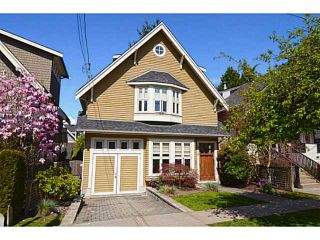 "Photo 1: 875 W 24TH Avenue in Vancouver: Cambie House for sale in ""DOUGLAS PARK"" (Vancouver West)  : MLS®# V1057982"