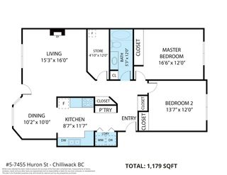 Photo 2: 5 7455 HURON Street: Townhouse for sale in Chilliwack: MLS®# R2546189
