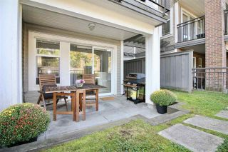 "Photo 1: 109 4728 BRENTWOOD Drive in Burnaby: Brentwood Park Condo for sale in ""THE VARLEY"" (Burnaby North)  : MLS®# R2403000"