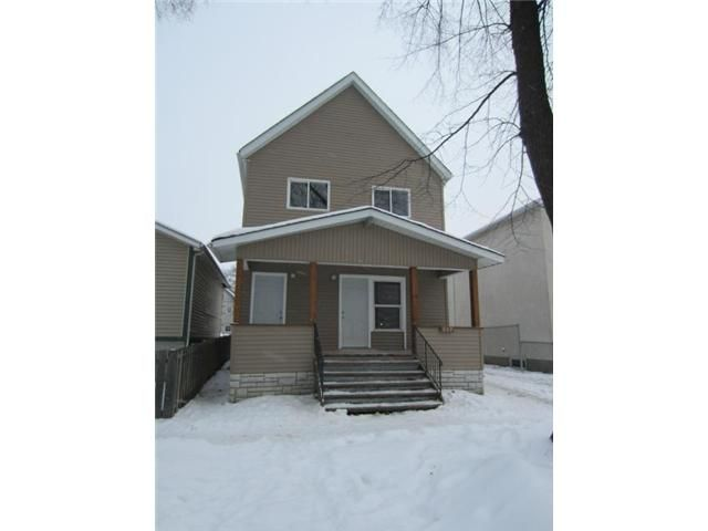 Main Photo: 539 Pritchard Avenue in WINNIPEG: North End Residential for sale (North West Winnipeg)  : MLS®# 1224373