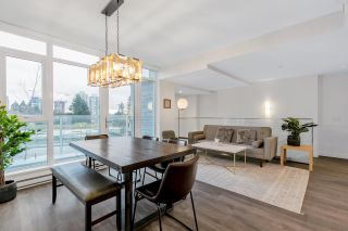 """Photo 3: 101 652 WHITING Way in Coquitlam: Coquitlam West Townhouse for sale in """"Marquee"""" : MLS®# R2616667"""
