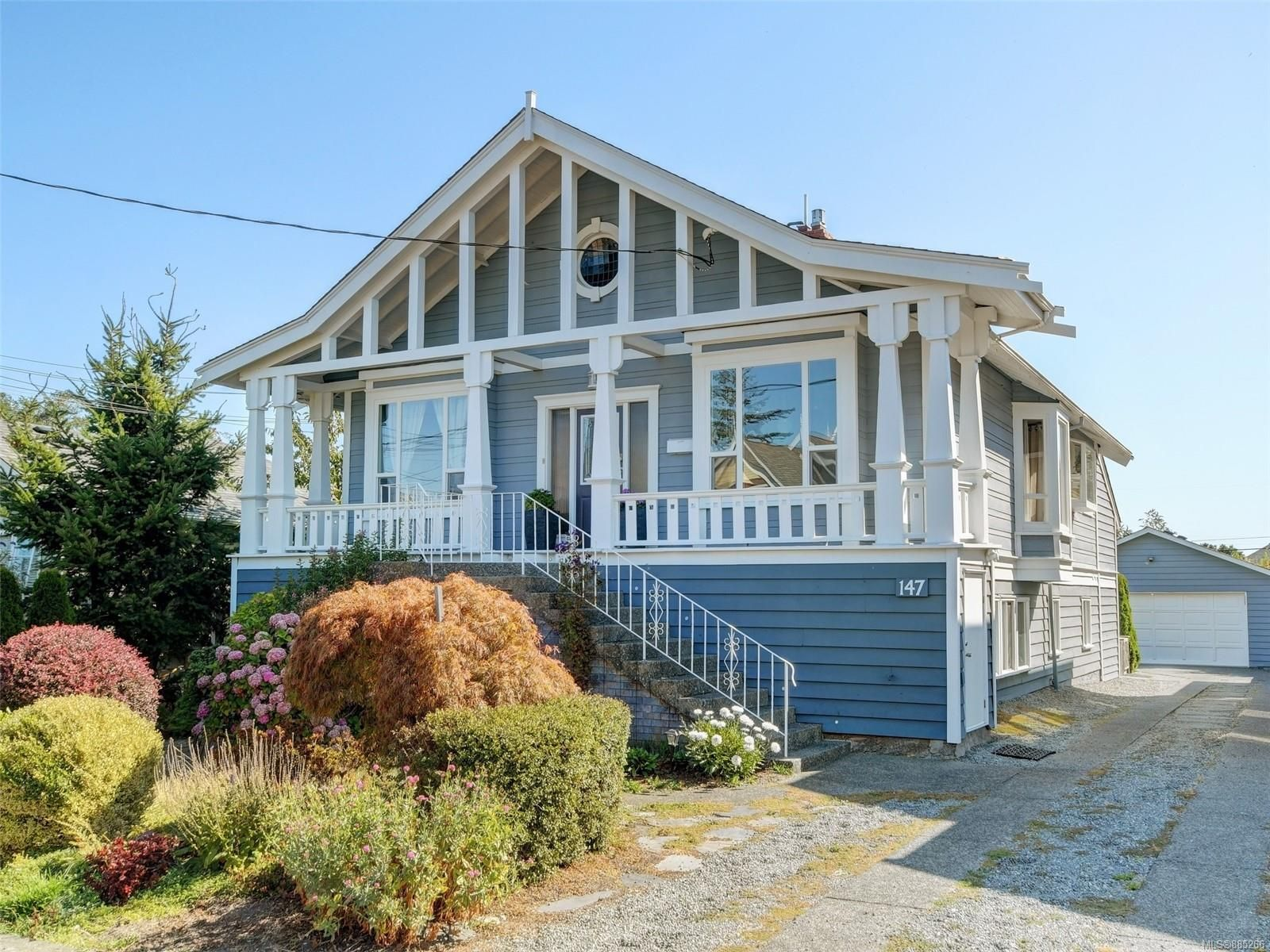 Front of house - located on one of the nicest streets in Fairfield. Steps to the ocean