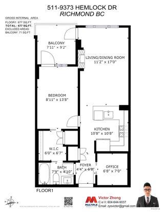 "Photo 35: 511 9373 HEMLOCK Drive in Richmond: McLennan North Condo for sale in ""mandalay"" : MLS®# R2616554"