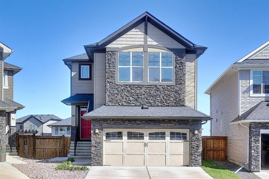 Main Photo: 35 SAGE BERRY Road NW in Calgary: Sage Hill Detached for sale : MLS®# A1108467