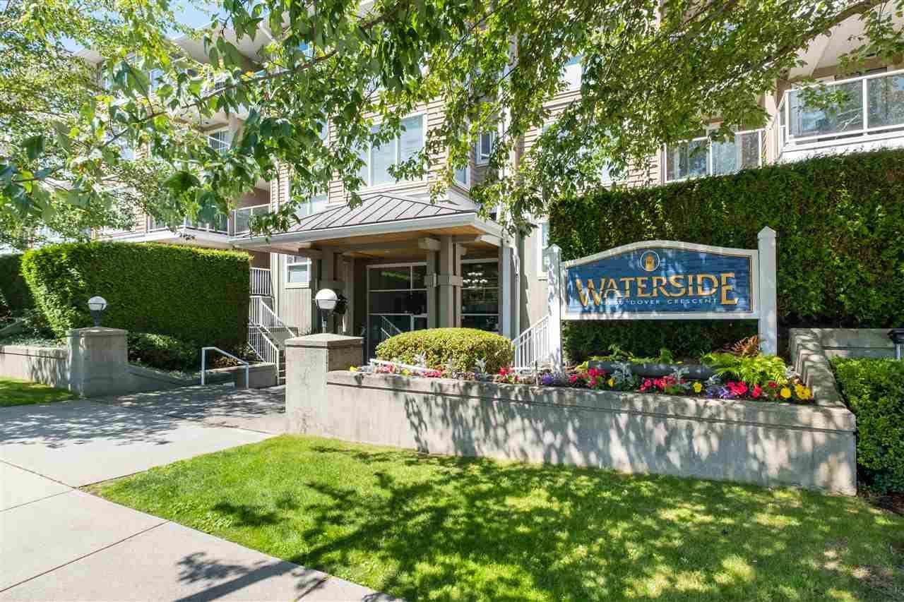 """Main Photo: 329 5880 DOVER Crescent in Richmond: Riverdale RI Condo for sale in """"WATERSIDE"""" : MLS®# R2478591"""