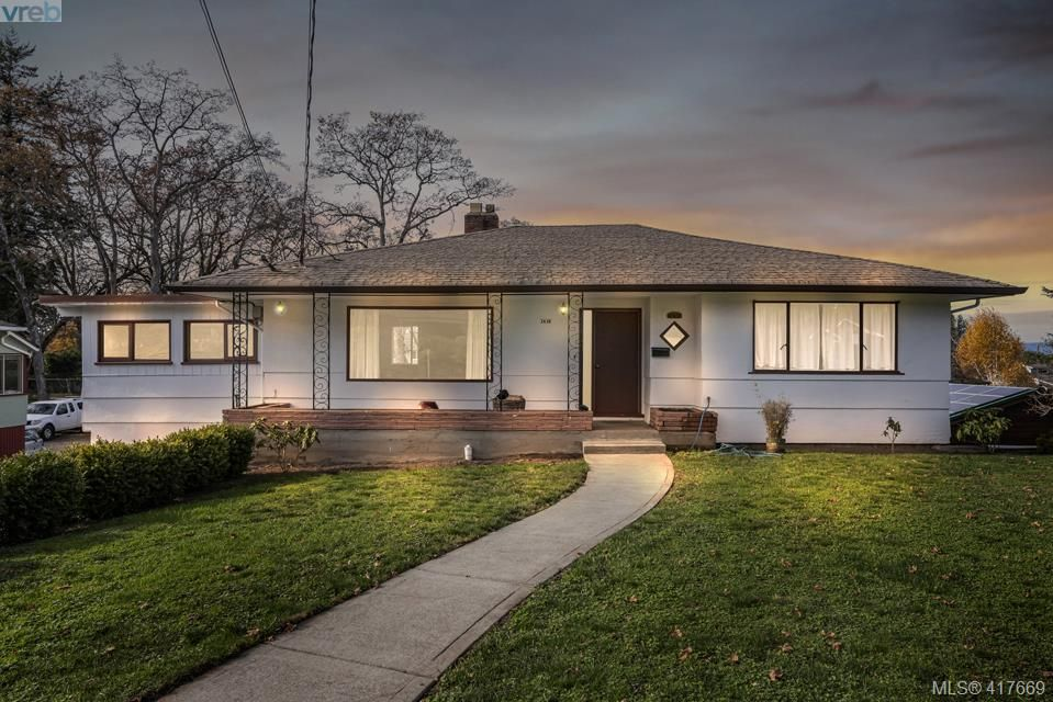 Main Photo: 3630 Kathleen St in VICTORIA: SE Maplewood House for sale (Saanich East)  : MLS®# 828620