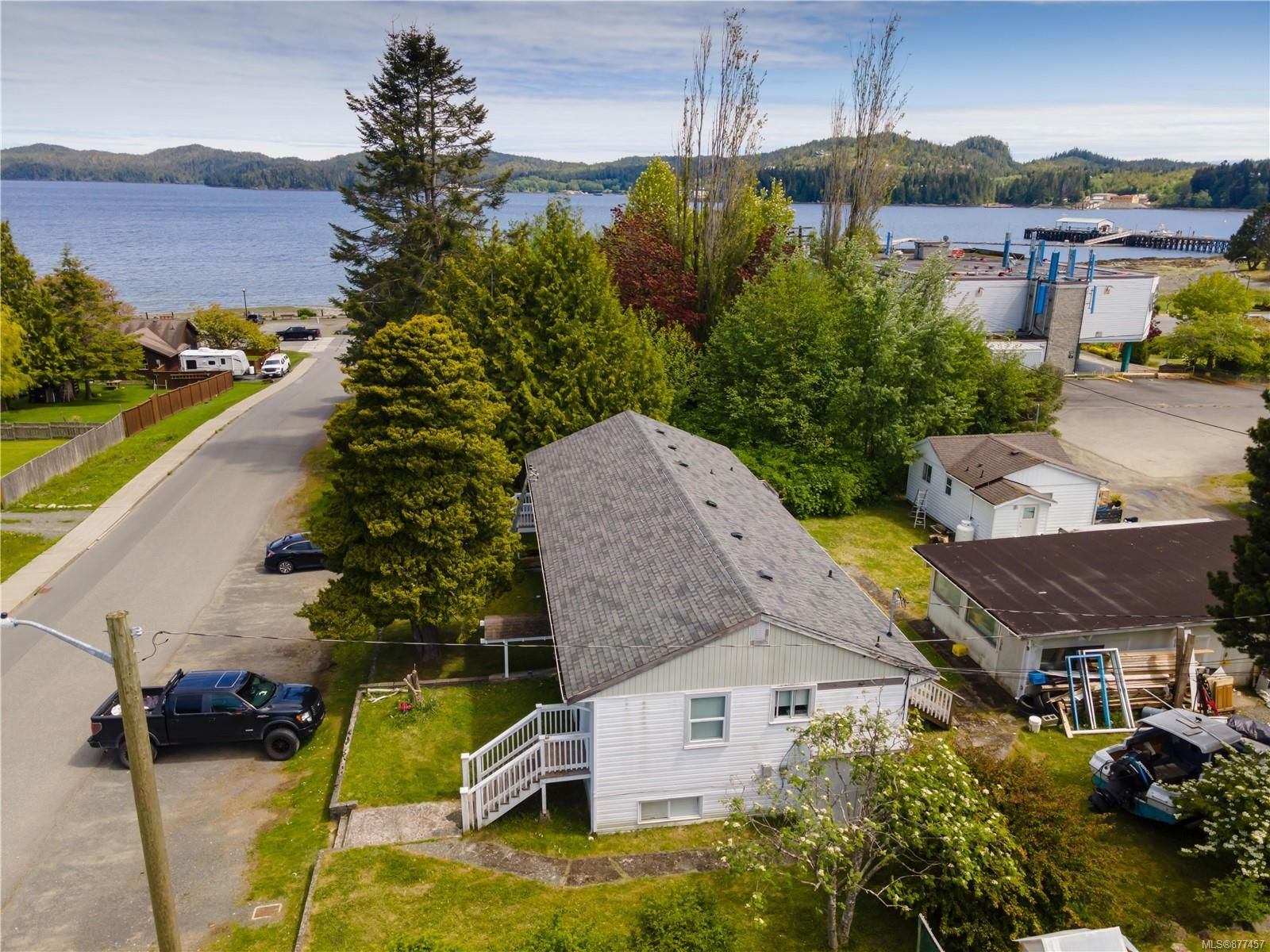 Main Photo: 8755 Central St in : NI Port Hardy Multi Family for sale (North Island)  : MLS®# 877457