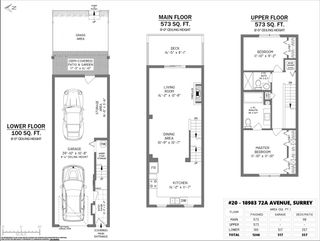 """Photo 1: 20 18983 72A Avenue in Surrey: Cloverdale BC Townhouse for sale in """"KEW"""" (Cloverdale)  : MLS®# R2514121"""