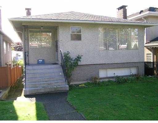 Main Photo: 3882 UNION ST in Burnaby: Willingdon Heights House for sale (Burnaby North)  : MLS®# V561840