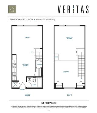 """Photo 19: 520 9168 SLOPES Mews in Burnaby: Simon Fraser Univer. Condo for sale in """"VERITAS By POLYGON"""" (Burnaby North)  : MLS®# R2600364"""