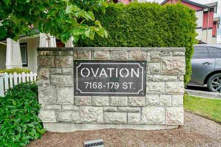 """Photo 35: 35 7168 179 Street in Surrey: Cloverdale BC Townhouse for sale in """"Ovation"""" (Cloverdale)  : MLS®# R2592743"""
