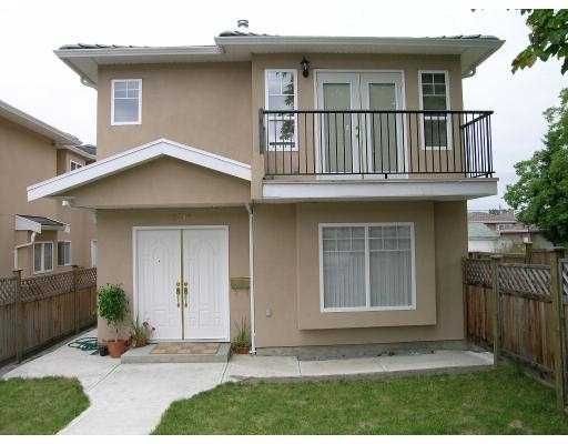 Main Photo: 5015 NORFOLK ST in Burnaby: Central BN 1/2 Duplex for sale (Burnaby North)  : MLS®# V551184