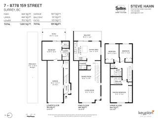 "Photo 25: 7 8778 159 Street in Surrey: Fleetwood Tynehead Townhouse for sale in ""AMBERSTONE"" : MLS®# R2615908"