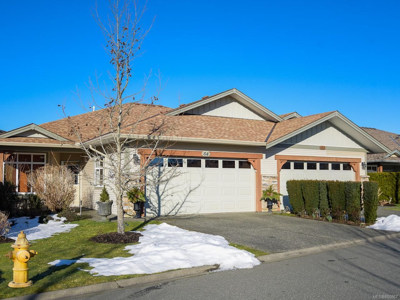 Main Photo: 54 2300 MURRELET DRIVE in COMOX: CV Comox (Town of) Row/Townhouse for sale (Comox Valley)  : MLS®# 806867