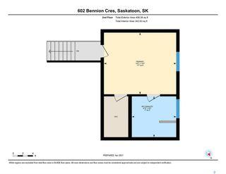 Photo 48: 602 Bennion Crescent in Saskatoon: Willowgrove Residential for sale : MLS®# SK849166