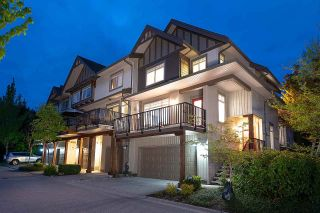 """Photo 1: 91 55 HAWTHORN Drive in Port Moody: Heritage Woods PM Townhouse for sale in """"COBALT SKY"""" : MLS®# R2590568"""