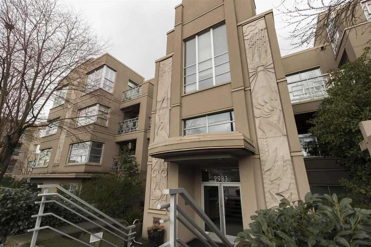 Main Photo: 211 2983 W 4TH Avenue in Vancouver: Kitsilano Condo for sale (Vancouver West)  : MLS®# R2244588