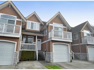 """Photo 1: 15 1506 EAGLE MOUNTAIN Drive in Coquitlam: Westwood Plateau Townhouse for sale in """"RIVER ROCK"""" : MLS®# V1099856"""