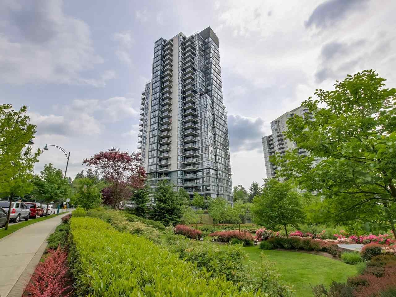 Main Photo: 203 288 UNGLESS WAY in Port Moody: Port Moody Centre Condo for sale : MLS®# R2071333